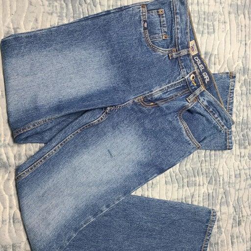 Cruel Girl 14s straight cut jeans