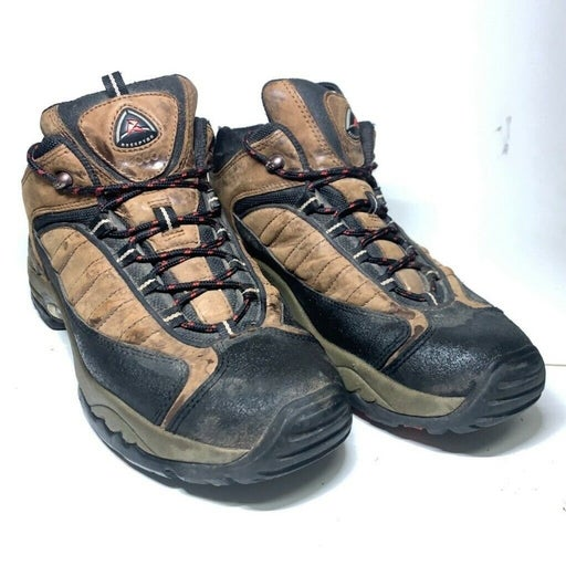 ECCO Mens Hiking Trail Boots Brown Black