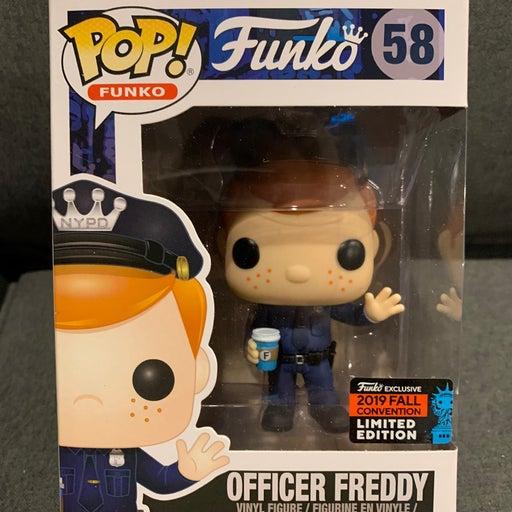 Officer Freddy Funko Pop