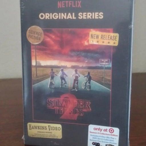 Netflix Original Stranger things 2 blu-ray set
