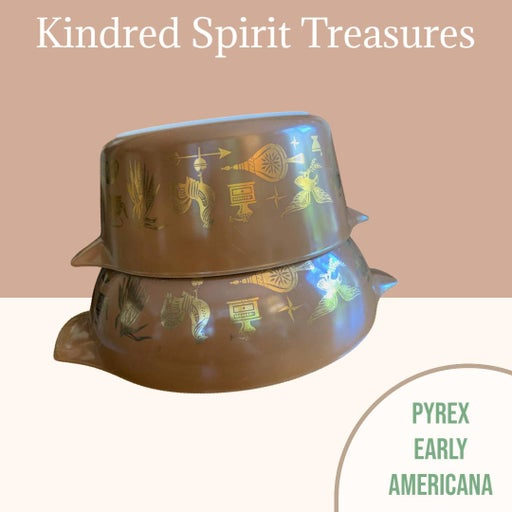 Pyrex Early Americana 475-B & 444