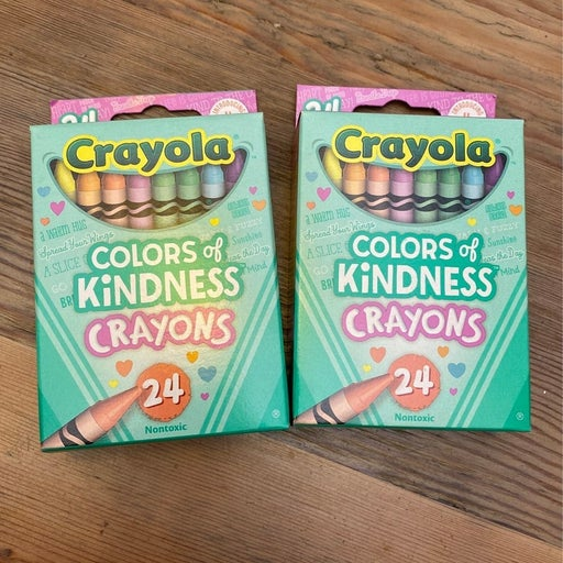 Crayola Crayons - Colors of Kindness 2 packs