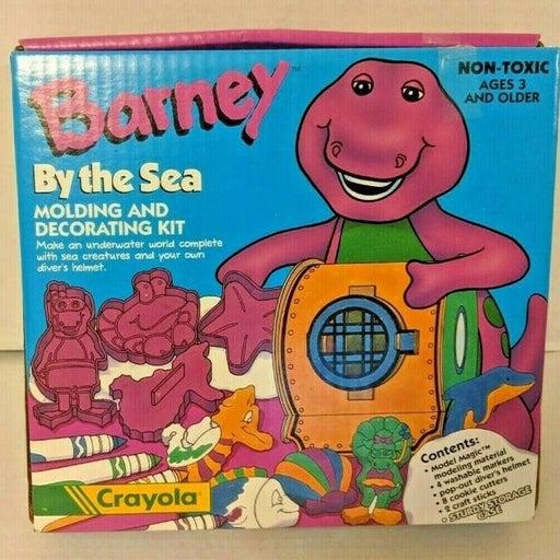 Barney Vintage Crayola Craft Kit 1993 Model Magic