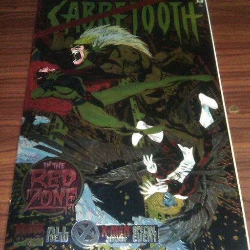 #90: SABRETOOTH SEPCIAL  #1   $4.95   1995   NM  CHROMIUM COVER  MARVEL COMICS