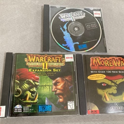 Warcraft II: Tides Of Darkness with Expansion sets