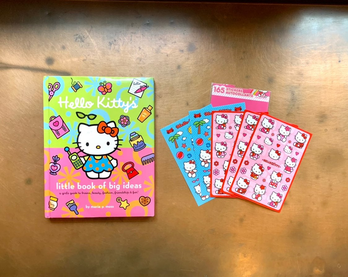 HELLO KITTY Craft Book & Stickers!