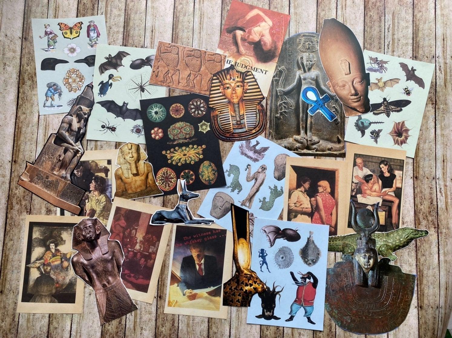 Dark art, ephemera,bats ,mythology