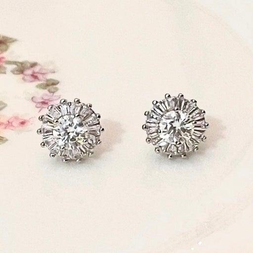 1.0CT Real Diamond Moissanite Earrings
