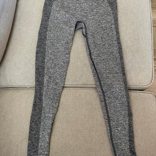 Gymshark leggings grey and purple size xsmall