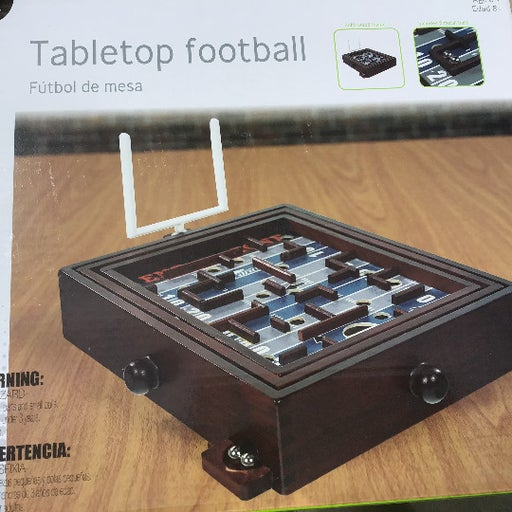 Tabletop Wood Football game