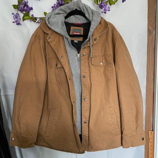 Craftsman heavy Hooded Jacket