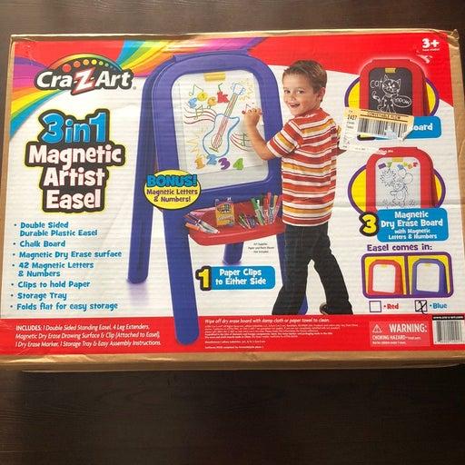 Cra-Z-Art 3-in-1 Magnetic Artist Easel