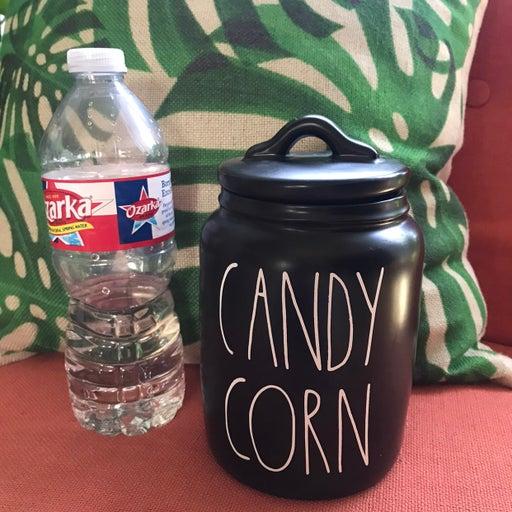 Rae Dunn Keep Candy Corn Canister