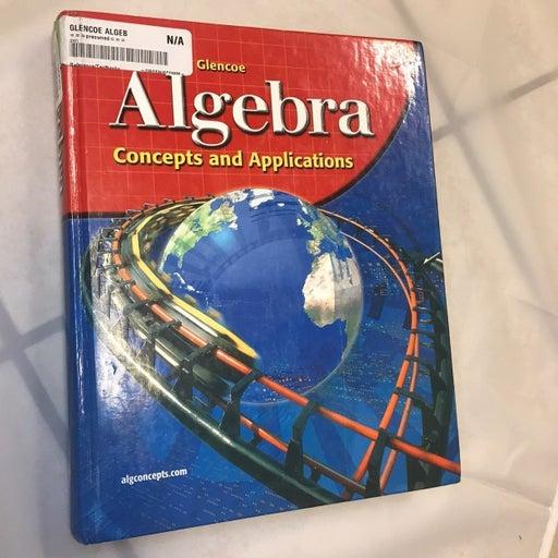 Glencoe McGraw Hill Algebra Textbook