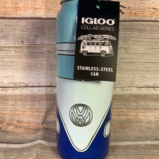 VW Bus Stainless Can Tumbler Volkswagen