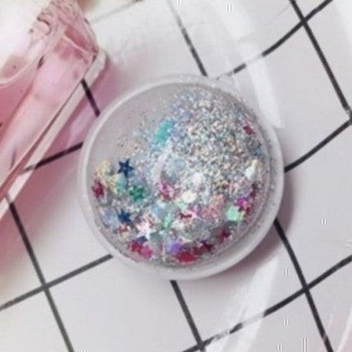 New Silver Waterfall Glitter PopSocket!