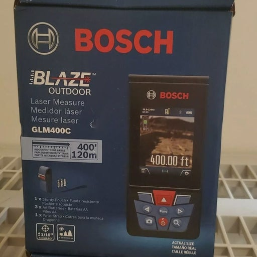 Bosch Blaze GLM400C Laser 400ft
