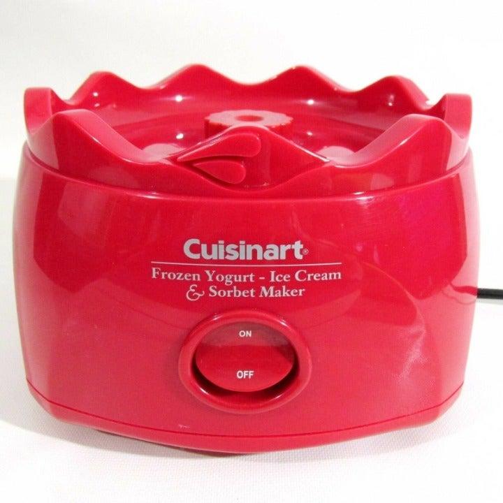 Cuisinart Red CIM-22 ICE-20 Base Motor