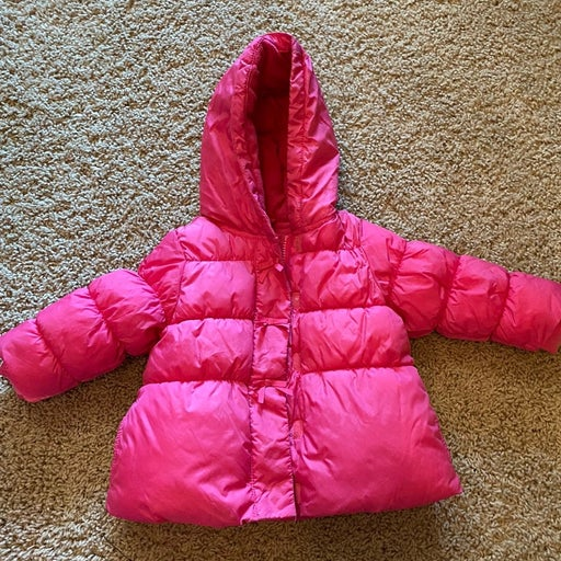 Gymboree Cheery All The Way puffy coat