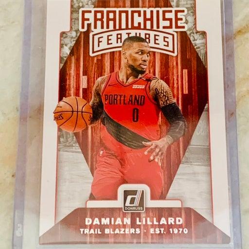 Panini Portland Trailblazers Damian Lillard Card