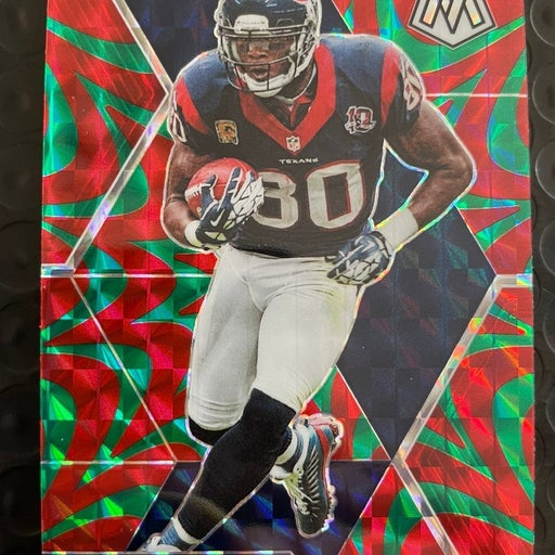 Andre Johnson Mosaic Red/Green Reactive Prizm