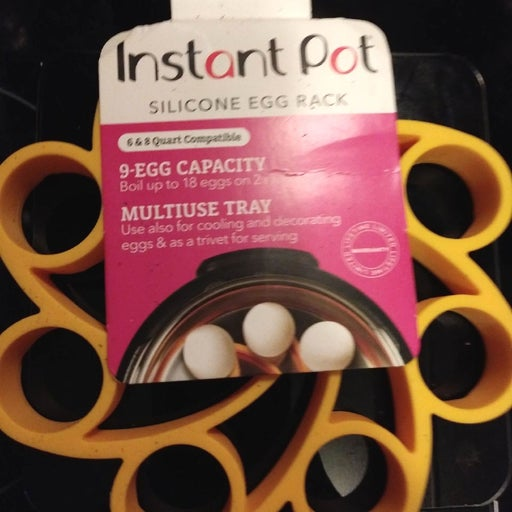 instant pot silicone egg rack NWT