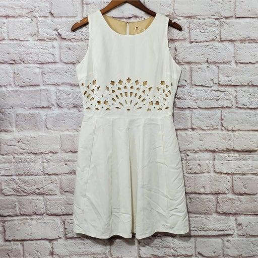 Chelsea & Violet White Eyelet Dress