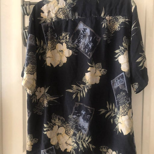 Izod men Hawaiian shirt