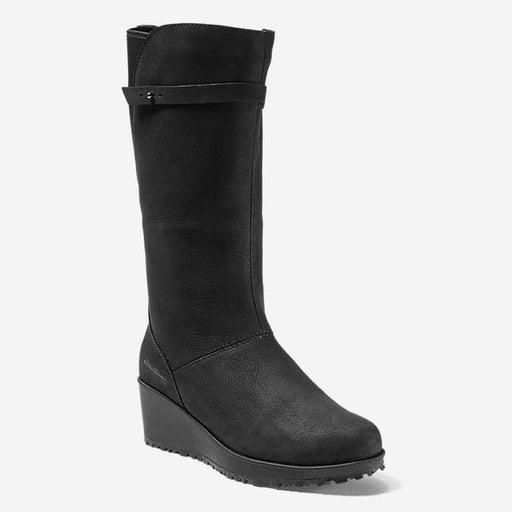 NIB Eddie Bauer Lodge Wedge Boots – Waterproof Leather - Size 9