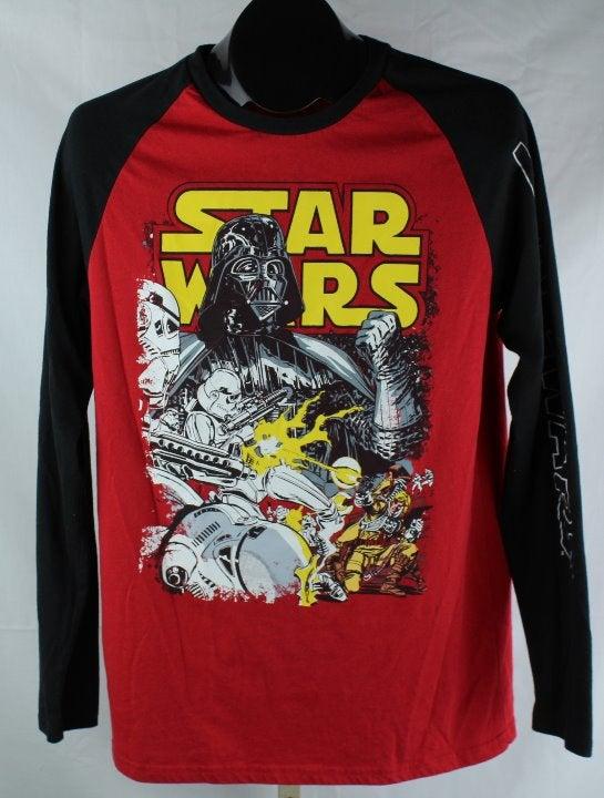 Star Wars Retro Graphic T-Shirt Mens Med