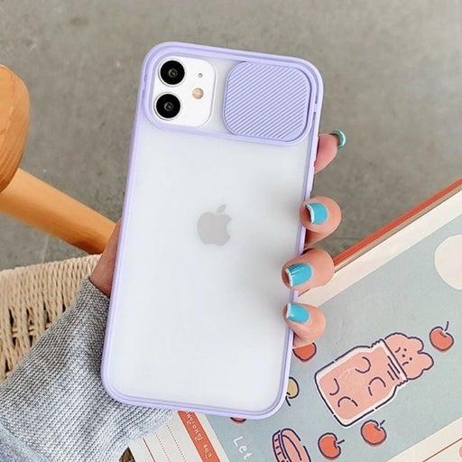 Iphone 12 Case Camera Slide Luxury