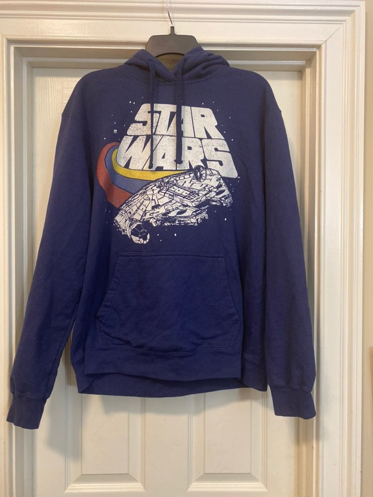Vintage Star Wars Blue Large Lucasfilm H