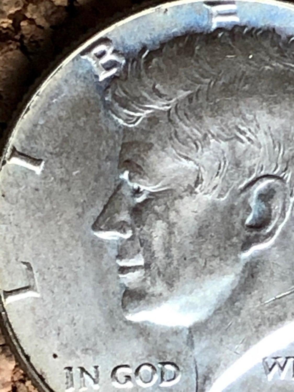 1968 D Kennedy Silver Half Dollars (4)