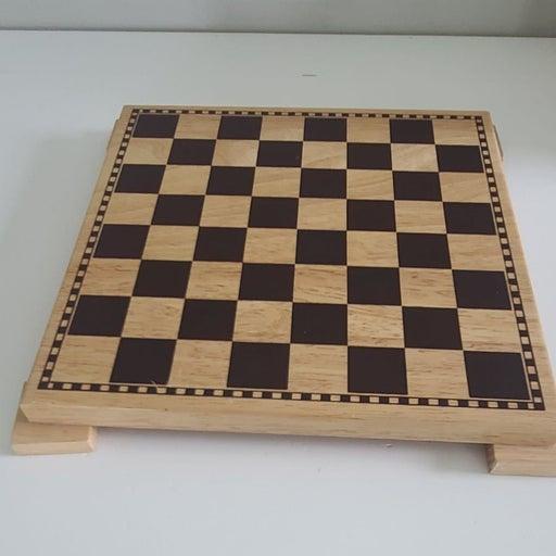 "Pinewood 11"" x 11""  chessboard"