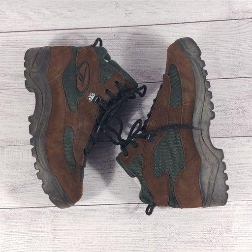 Hi-Tec Durango 5242 Men's Hiking Boots 9 Brown Green