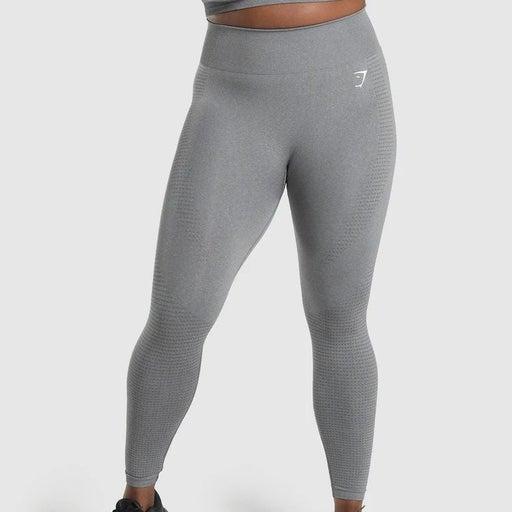 M - Gymshark Vital Seamless 2.0 Leggings - Smokey Grey Marl