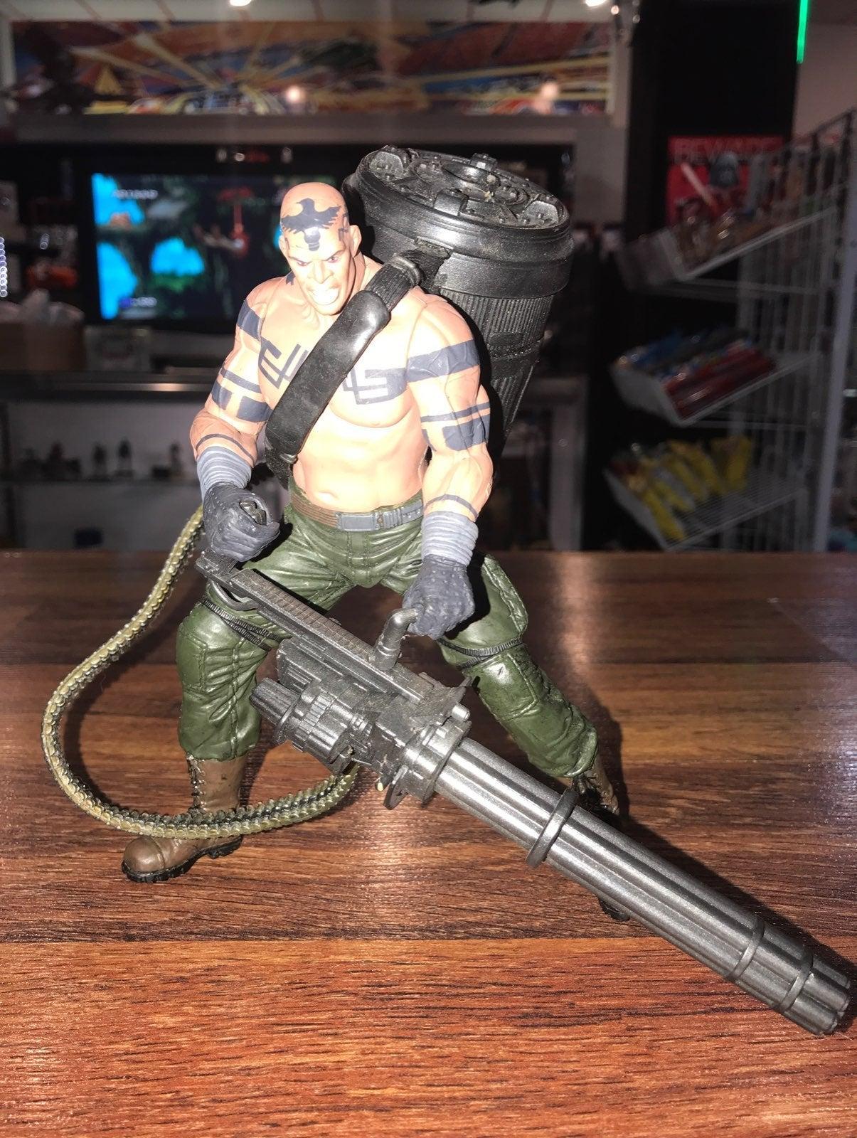 Metal Gear Solid Vulcan Raven Action Figure McFarlane Toys 1998 Konami S11 for sale online
