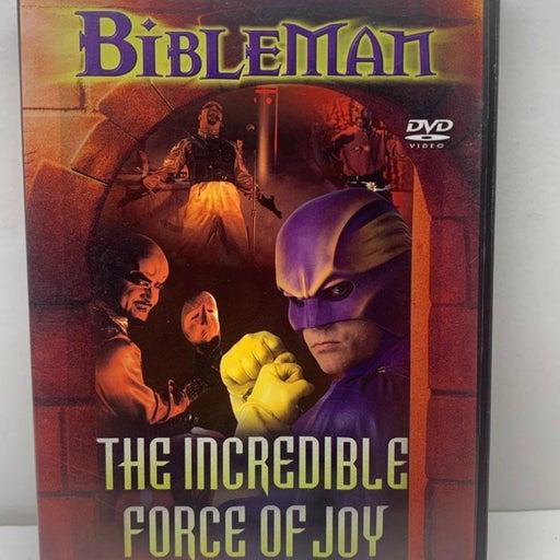 Bible Man The Incredible Force of Joy DV