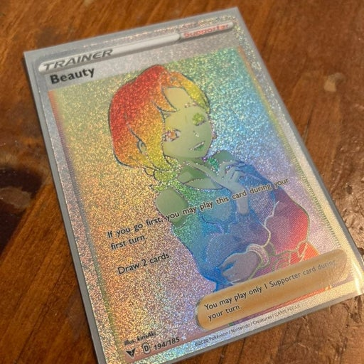 Beauty 194/185 Rainbow Rare Pokemon