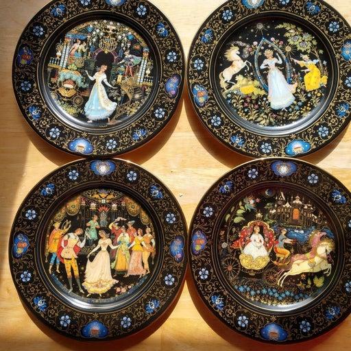 Plates set of 4