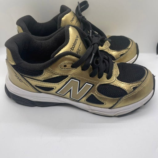 Kids New Balance 990 Gold/Black