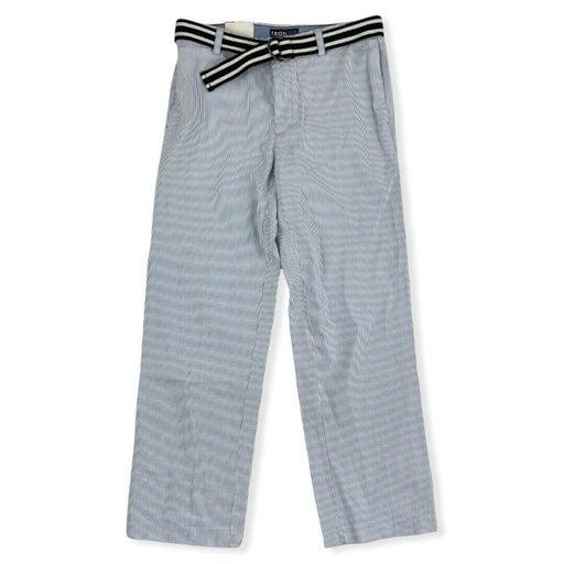 NWT IZOD Sandy Bay Seersucker Straight Fit Dress Casual Pants Men's 32x30 $75