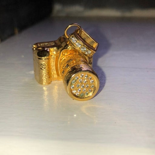 CustomMade Gold-Filled Canon Camera neck