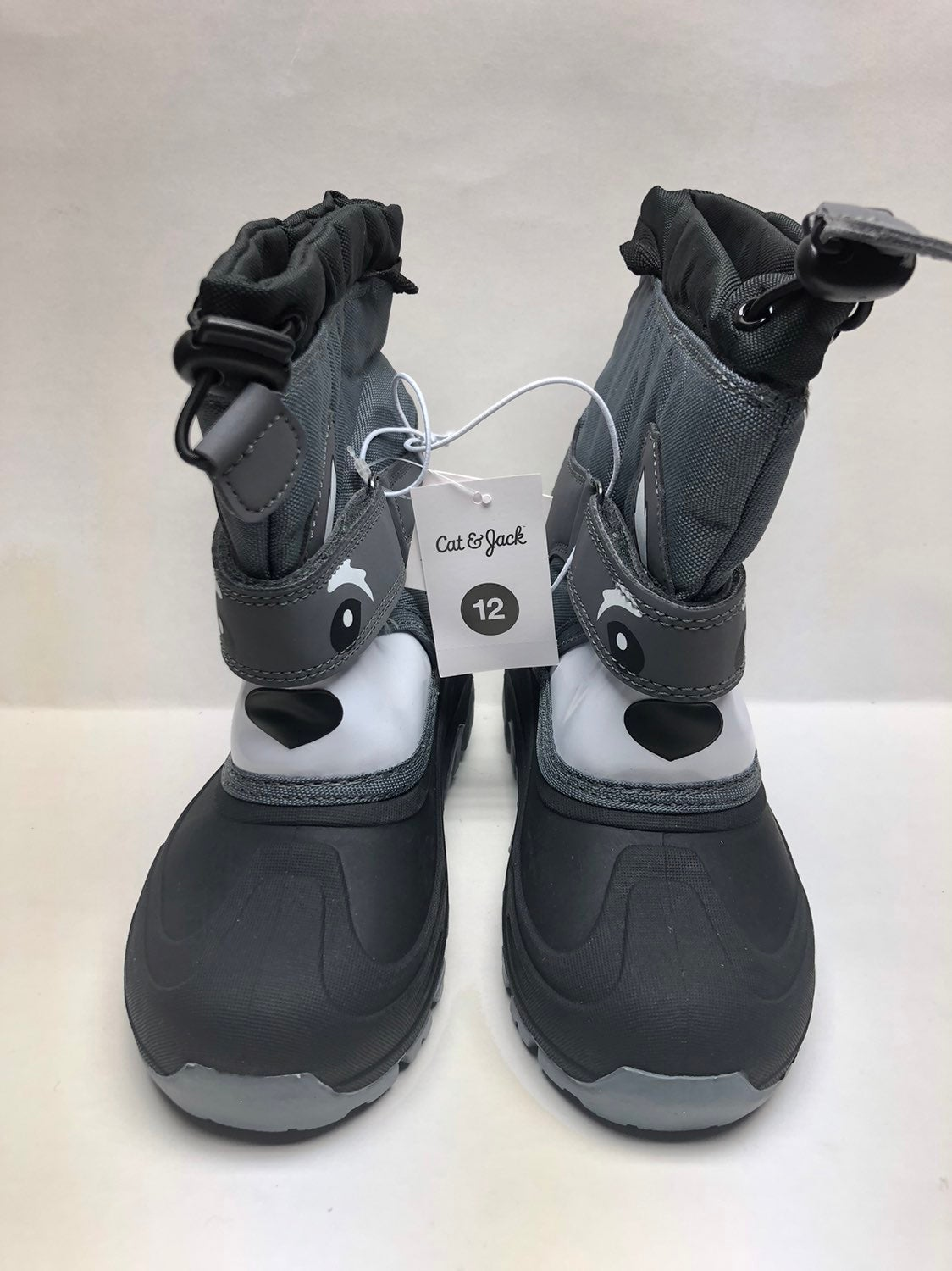 Cat /& Jack Valmai Girl/'s Winter Snow Boots Gray//Pink Thermolite CHOOSE SIZE