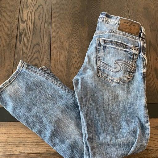Silver Jeans Co. Men's Allan Classic Fit Straight