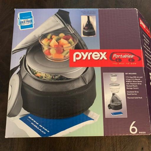 Pyrex Portables 6 Piece Lunch Box Set