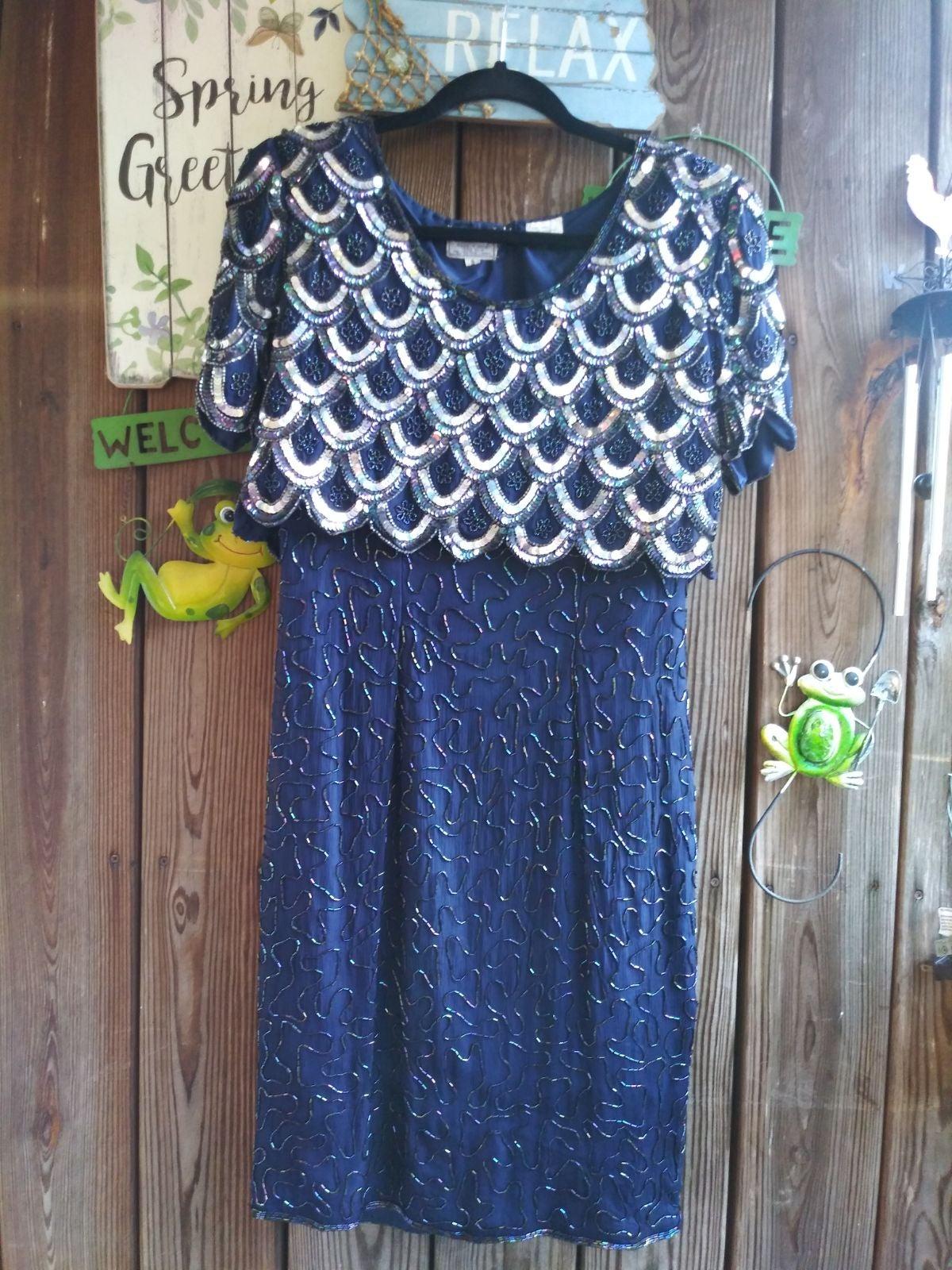 Evening Dress by Stenay Sz.8