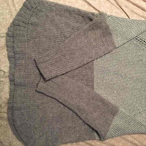 MK Removable Cowl Sweater