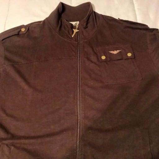 Avirex zip up light Jacket