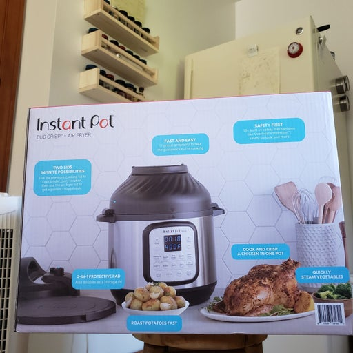 New Instant Pot Pressure Cooker with Air